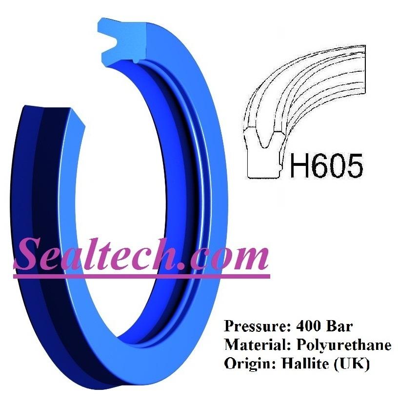ROD SEAL - H605 HALLITE
